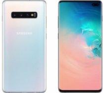 Samsung Galaxy S10 Plus 128GB+64GB SDHC SM-G975F/DS Prism White (SAMSS10PLUS128GBWHITESDHC)