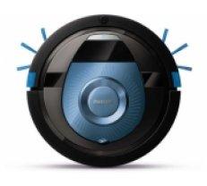 PHILIPS SmartPro Compact Robot putekļsūcējs (melns ar zilu) - FC8774/01 (FC8774/01)