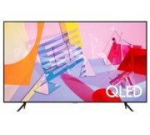 "Televizors SAMSUNG 75"" 4K/Smart QLED 3840x2160 Wireless LAN Bluetooth Wi-Fi Direct Tizen Titanium QE75Q67TAUXXH (QE75Q67TAUXXH)"