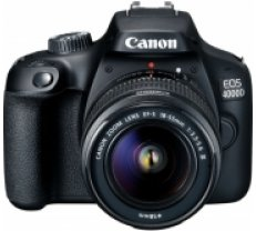 Canon EOS 4000D + 18-55mm III Kit, black (3011C003)
