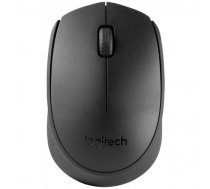 Logitech Mouse B170 Wireless, Black, Yes, Wireless connection
