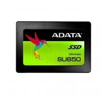"ADATA Ultimate SU650 ASU650SS-240GT-R 240 GB, SSD form factor 2.5"", SSD interface SATA, Write speed 450 MB/s, Read speed 520 MB/s"