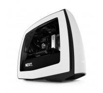 NZXT Manta Side window, Black, White, ITX-Tower, Power supply included No