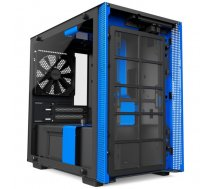 NZXT H200i Side window, Black/Blue, mini ITX, Power supply included No