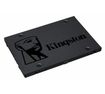 "Kingston A400  480 GB, SSD form factor 2.5"", SSD interface SATA, Write speed 450 MB/s, Read speed 500 MB/s"