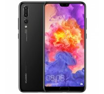 "Huawei P20 Pro Black, 6.1 "", AMOLED, 1080 x 2240 pixels, HiSilicon Kirin, 970, Internal RAM 6 GB, 128 GB, Single SIM, Nano-SIM, 3G, 4G, Main camera Triple 40+20+8 MP, Secondary camera 24 MP, Android, 8.1, 4000 mAh"