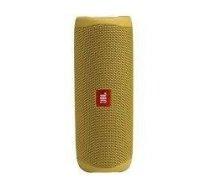 Portable Speaker|JBL|Flip 5|Portable/Waterproof/Wireless|Bluetooth|Yellow|JBLFLIP5YEL