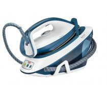 TEFAL Liberty Steam station SV7030 White/Blue, 2200 W, 1.5 L, 5.5 bar, Auto power off, Vertical steam function, Calc-clean function