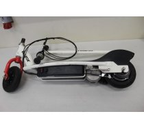 "SALE OUT. Razor e200 Electric Scooter, White/Red / USED, REFURBISHED, SCRATCHED, WITHOUT ORIGINAL PACKAGING, MISSING WRENCH Razor 8 "", E200, Electric Scooter, 200 W, 19 km/h, 12 month(s), White/Red"