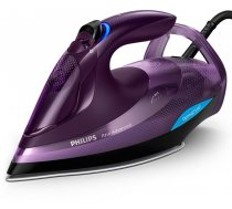 Philips Iron GC4934/30 Steam Iron, 3000 W, Water tank capacity 330 ml, Continuous steam 55 g/min, Purple