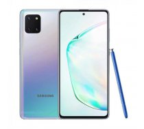 "Samsung Galaxy Note 10 Lite Aura Glow, 6.7 "", Super AMOLED, 1080x2400 pixels, Internal RAM 8 GB, 128 GB, microSD, Dual SIM, 4G, Main camera 12-12+12 MP, Secondary camera 32 MP, Android, 9.0, 4500 mAh"