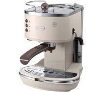 Delonghi ICONA Vintage Coffee maker ECO311.BG  Pump pressure 15 bar, Built-in milk frother, Espresso maker, 1100 W, Beige