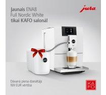 Ekskluzīvi KAFO - JURA ENA8 Full Nordic White