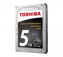 TOSHIBA Cietais disks HDWE150EZSTA X300 5TB 7200 RPM, 3.5 inch, HDD, 128 MB