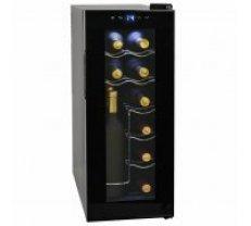vīna ledusskapis, 35 L, 12 pudeles, LCD displejs