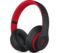 Apple Beats Studio3 Wireless Over-Ear Headphones - Defiant Black-Red