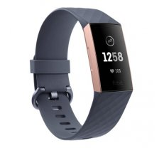 Fitbit Charge 3 Rose Gold/Blue Gray
