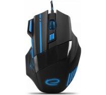 Esperanza Wired Gaming Optical Mouse MX201 WOLF blue EGM201B T-MLX30645