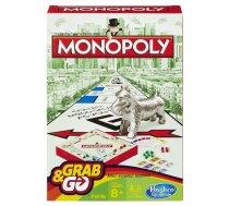 Hasbro Spēle Monopols, ceļojumu formāts (B1002)