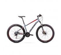 Kalnu velosipēds Romet Rambler 27.5 R7.2 grafīts/sarkans 2019 (1927705-21XL, 5000000234660)
