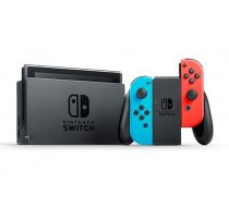 Spēļu konsole Nintendo Switch Neon Red and Neon Blue Joy-Con V2 (10002433) (10002207, T-MLX34899)