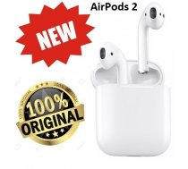 Apple AirPods 2 (original, jaunā 2 serija)