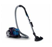 Philips PowerPro Compact FC9333/09 vacuum 650 W A Cylinder vacuum 1.5 L Black,Blue,Grey,Violet