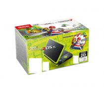"Nintendo New 2DS XL + Mario Kart 7 portable game console Black,Green,Lime 12.4 cm (4.88"") Touchscreen Wi-Fi"