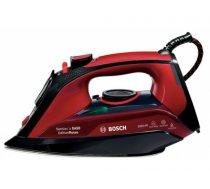 Bosch TDA503011P iron Steam iron Ceranium Glissée soleplate Black, Red 3000 W