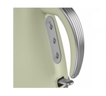 Kettle electric Swan RETRO SK19020GN (3000W 1.5l; green color)