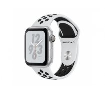 AppleWatch Nike+ Series 4 GPS, 40mm Silver Aluminium Case with Pure Platinum/Black Nike Sport Band