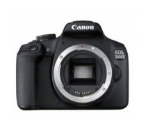 Canon EOS 2000D + EF-S 18-55mm f/3.5-5.6 III SLR Camera Kit 24.1 MP CMOS 6000 x 4000 pixels Black