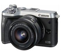 Canon EOS M6 + EF-M 15-45mm 3.5-6.3 IS STM MILC 24.2 MP CMOS 6000 x 4000 pixels Black,Silver