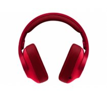 Logitech G433 Binaural Head-band Red