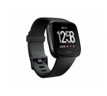 "Fitbit Versa smartwatch Black LCD 3.4 cm (1.34"") GPS (satellite)"