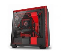 NZXT H700i Midi-Tower Black,Red