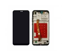 Screen LCD Huawei P20 Lite (black) (service pack: with frame and bat