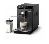 Philips 3000 series HD8829/09 coffee maker Freestanding Espresso machine Black 1.8 L Fully-auto