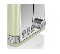 Toaster Swan RETRO ST19010GN (810 W; green color)