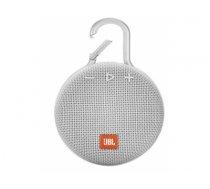 JBL Clip 3 3.3 W Mono portable speaker White