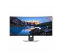 "DELL UltraSharp U3419W LED display 86.7 cm (34.1"") 3440 x 1440 pixels UltraWide Quad HD LCD Curved Black,Grey"