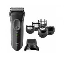 Braun 3000BT beard trimmer Grey
