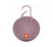 JBL Clip 3 3.3 W Mono portable speaker Pink