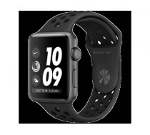 Apple Watch Nike+ Series 3 GPS. 42mm Space Grey Aluminium Case with Anthracite/Black Nike Sport Band. Model A1859 MTF42EL/A