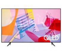 "TV Set SAMSUNG 75"" 4K/Smart QLED 3840x2160 Wireless LAN Bluetooth Wi-Fi Direct Tizen Titanium QE75Q67TAUXXH"