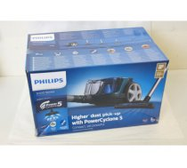 SALE OUT. Philips Vacuum cleaner  PowerPro Compact FC9334/09 Bagless, Power 900 W, Dust capacity 1.5 L, Black/Blue, DAMAGED PACKAGING