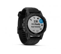 Garmin fēnix 5S Plus sport watch Black 240 x 240 pixels Bluetooth