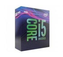 CPU|INTEL|Core i5|i5-9600K|Coffee Lake|3700 MHz|Cores 6|9MB|95 Watts|GPU UHD 630|BOX|BX80684I59600KSRELU