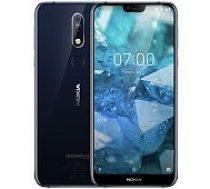 Nokia 7.1 32GB Gloss Midnight Blue mobilais telefons