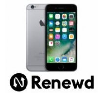 Apple RENEWD iPhone 6 16GB Space Gray Refurbished Renewd mobilais telefons